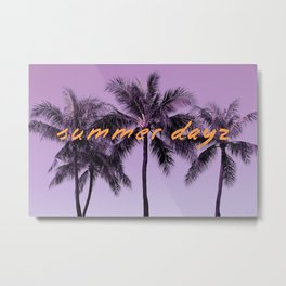 Summer Days Metal Print
