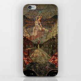 the cat ballet iPhone Skin