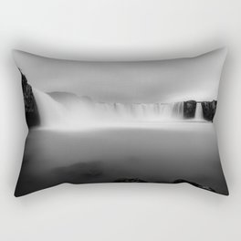 Godafoss waterfall in Iceland Rectangular Pillow