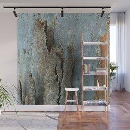 Eucalyptus Tree Bark and Wood Texture 17 Wall Mural
