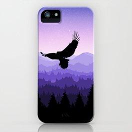 Eagle Skyline iPhone Case