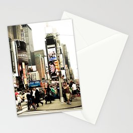 Time Square  Stationery Cards