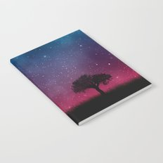 Tree Space Galaxy Cosmos Notebook