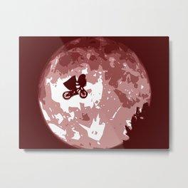 Minimalist ET Metal Print