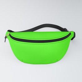 Green. Verde. Vert. Grün. зеленый Fanny Pack