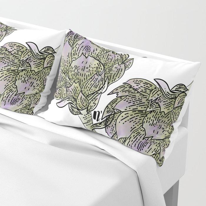 Wild Artichokes Pillow Sham