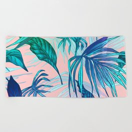 Pink in Paradise Beach Towel