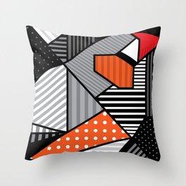 zebra finches Throw Pillow