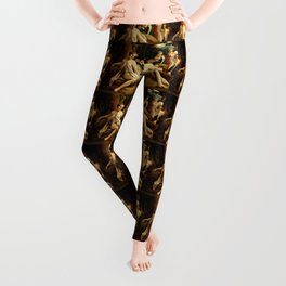 "Antonio Allegri da Correggio ""Leda and the Swan"" Leggings"