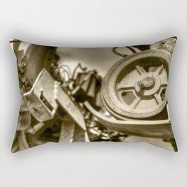 Coffee Combine Cog Rectangular Pillow