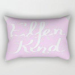 Elfenkind (Child of an Elf) Rectangular Pillow