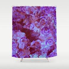 Hydrangea Paisley Abstract Shower Curtain