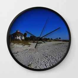 The Beach at Gasparilla State Park I Wall Clock