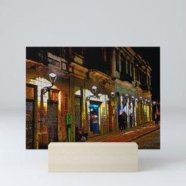 Rua do Fogo Mini Art Print