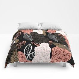 Naive Black Comforters