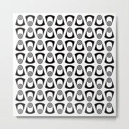 Geometric Pattern 112 (Fish eye) Metal Print