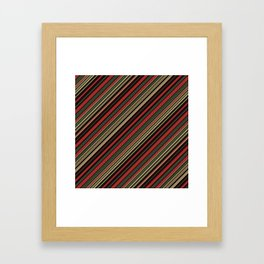 Just Stripes 3 Framed Art Print