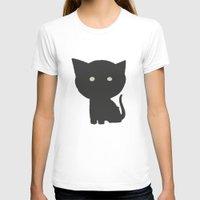 kitten T-shirts featuring Kitten by no925