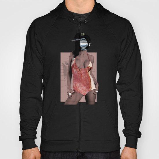 Fleisches Lust 1 - meat collage Hoody