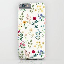 Spring Botanicals iPhone Case