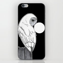 Owl and Moon iPhone Skin