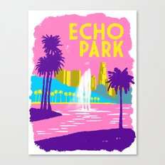 Echo Park Canvas Print