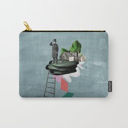 Surreal Collage Carry-All Pouch