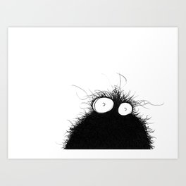The creatures from the drain poster 3 Art Print