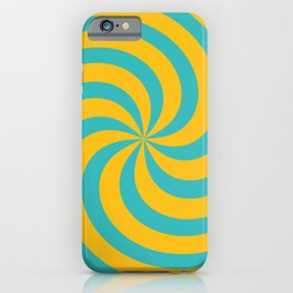 Color Swirl IV iPhone Case