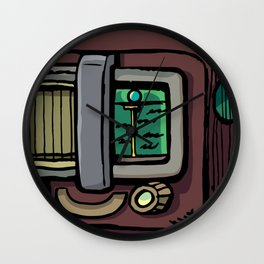 Old Radio Orion Wall Clock