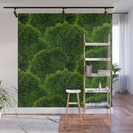 Moss - Green Luscious Mossy Texture - Full on Natural Moss Mounds- Earthy Greens -Turning Moss Green Wall Mural