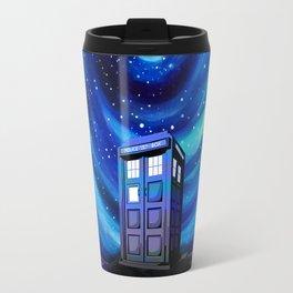 Tardis Vortex Starry Night Travel Mug