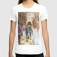 moscow T-shirts featuring Moscow Metro by Eli Gross Art