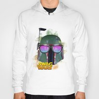 boba fett Hoodies featuring Boba Fett by Heretic