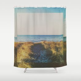 Fractions a01 Shower Curtain
