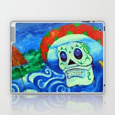 Muerto con mi sombrero fine art photography Laptop & iPad Skin