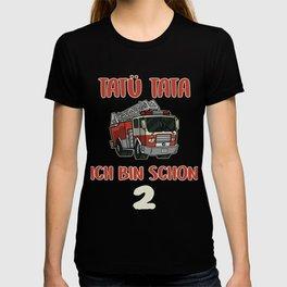 fire department kids t-shirt cool fire truck  T-shirt
