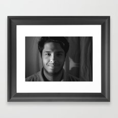 Prince Charming Smile Framed Art Print