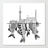 toronto Canvas Prints featuring Toronto by CAB Architects
