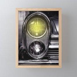 Front lights Framed Mini Art Print