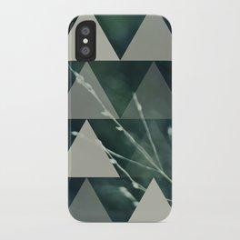 cyan iPhone Case