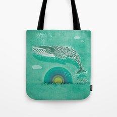 Whale Future Tote Bag