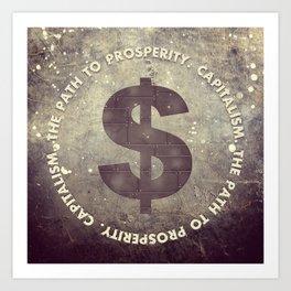 The Path To Prosperity Art Print