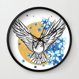 Oracle Owl Wall Clock