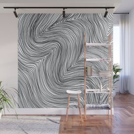 lines no3 Wall Mural