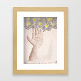 I'll Light The Night With Stars Framed Art Print