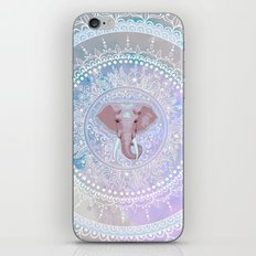 elephant mandala iPhone & iPod Skin