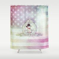 chuck Shower Curtains featuring Chuck Noris by rudziox