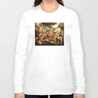 nirvana Long Sleeve T-shirts featuring Nirvana by 2700art