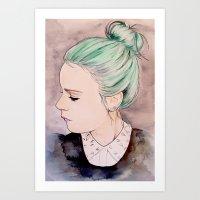 Émilie Art Print